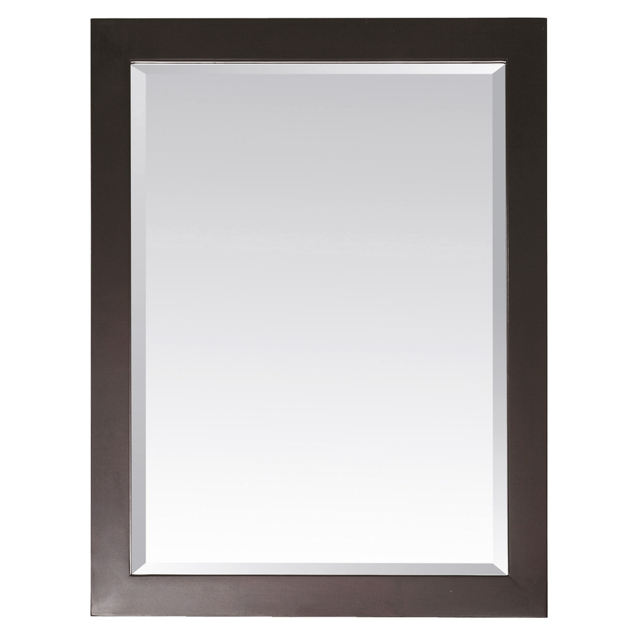 cermin kamar mandi minimalis salak brown
