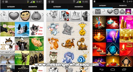 Emoticones divertidos con Stickers 4 Whatsapp