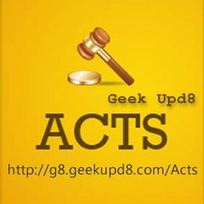 Laws in India and Indian Bare Acts PDF Free Downloads, Available at Geek Upd8