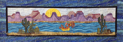 Floatin Down the River Row Quilt