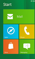 Launcher Windows 8 for Android 1.5 Full serial