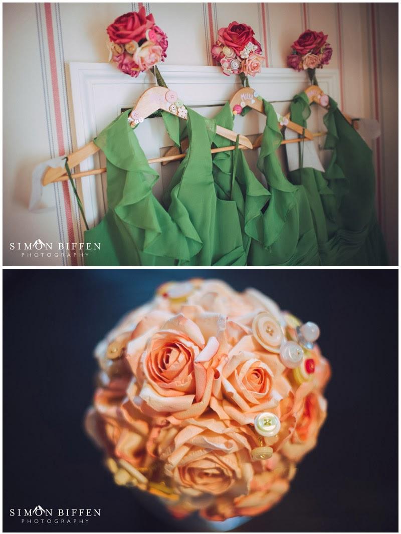 Bridal button boquet