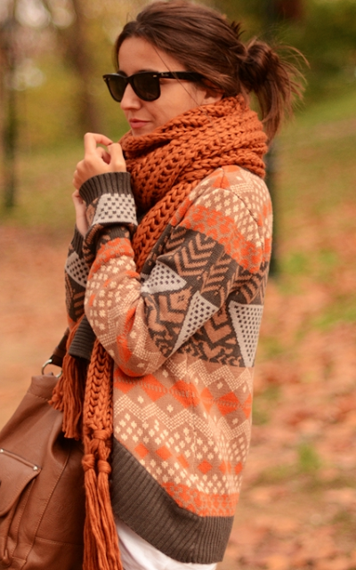 Adorable cute comfy sweater for fall