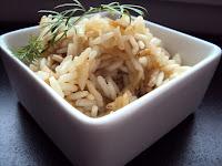 Dwukolorowy ryż zamiast ziemniaków -prażony