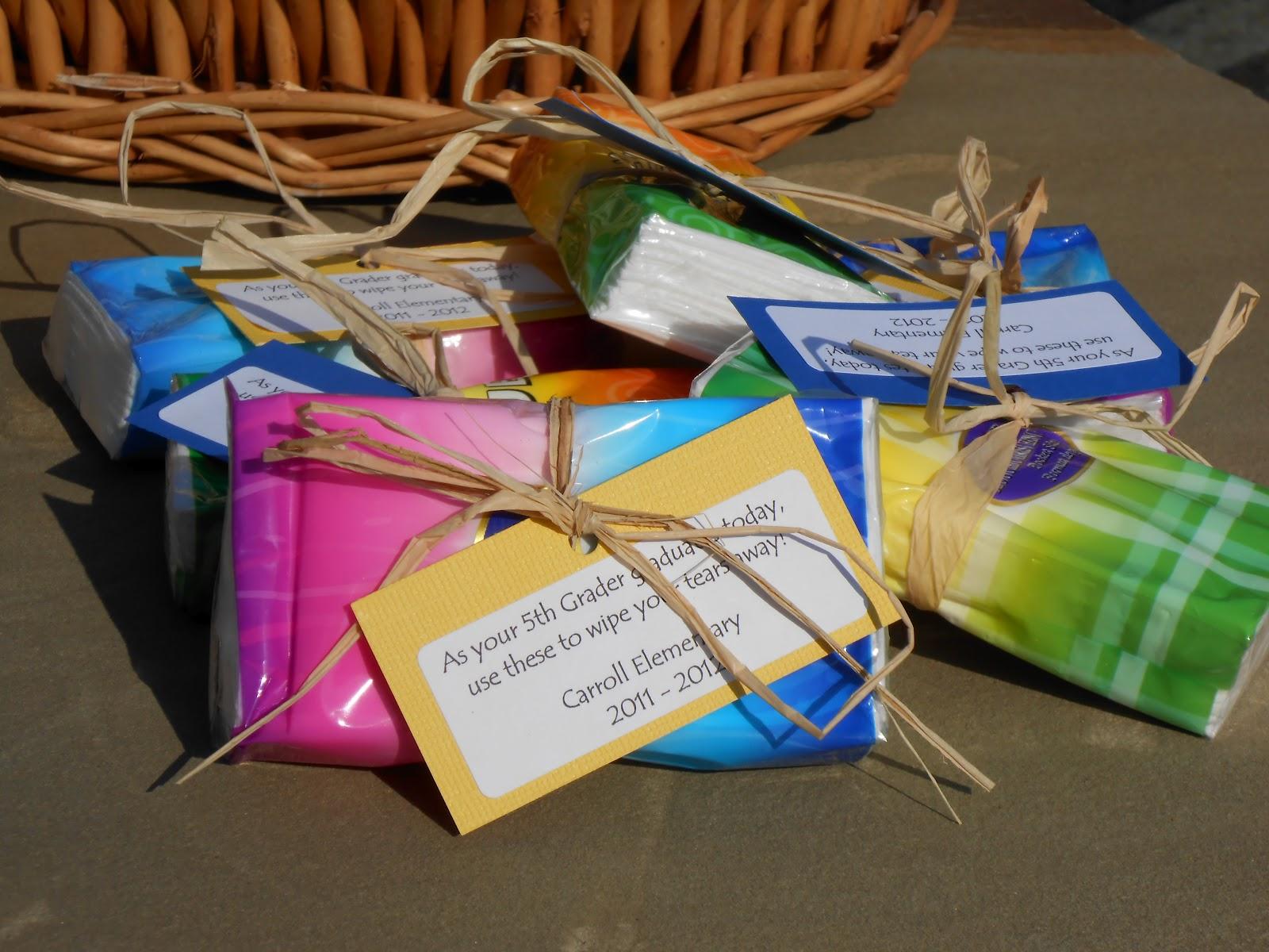 The craftin 39 b 5th grade graduation tissue for 8th grade graduation decoration ideas