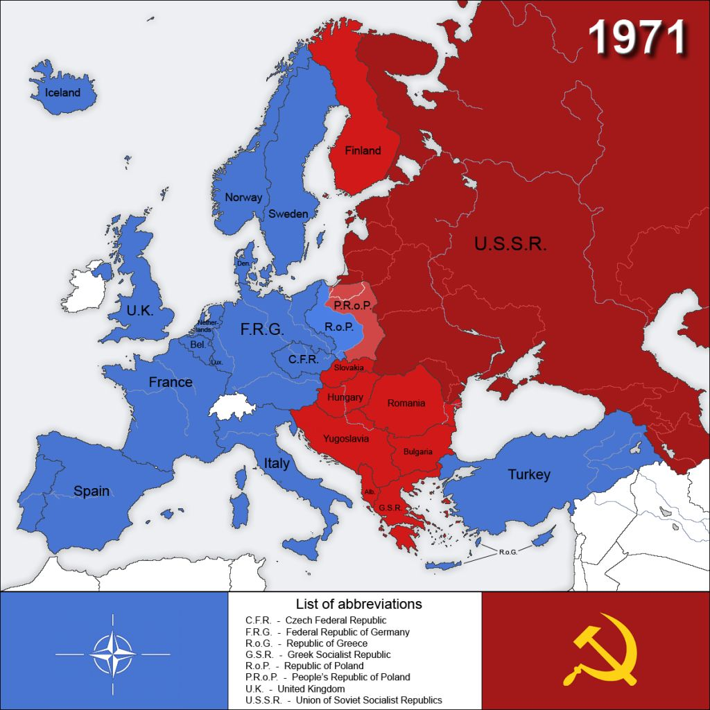 an introduction to the history of the cold war and west germany 1960 1970 The ebbing of the cold war, the transition to post-industrial economic structures,  and the  within each cluster, the selections include east and west german   lost much of its ideological credibility during the 1970s and 1980s  1960s put a  dent in the social market economy, but the concerted action of government.