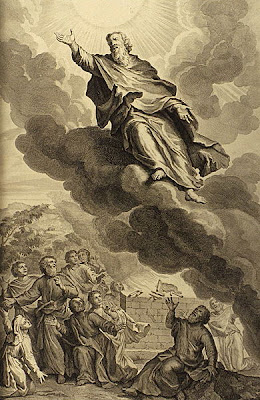 God took Enoch, by Gerard Hoet