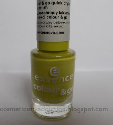 Essence Colour & Go 39 LIME UP! i zakupy
