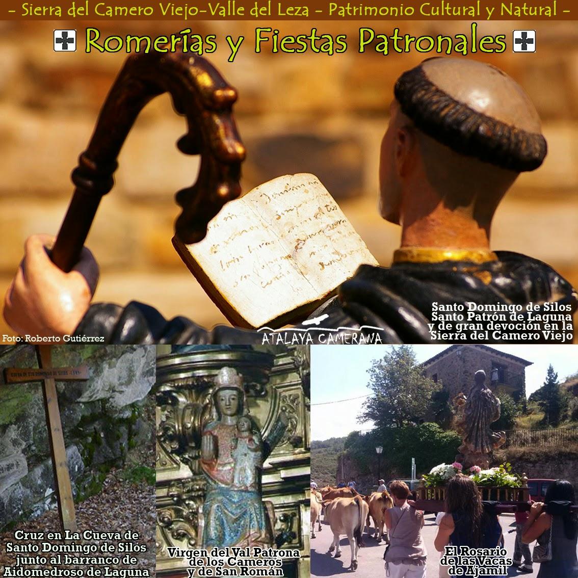 Fiestas Patronales y Romerías de la Sierra del Camero Viejo