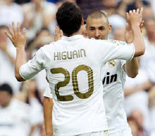 Higuain and Benzema