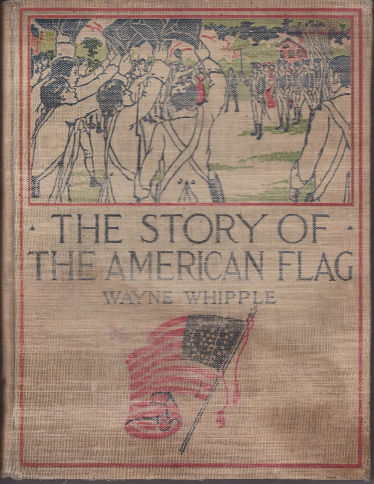 Papergreat american flag history compliments of leinbach for The american flag history