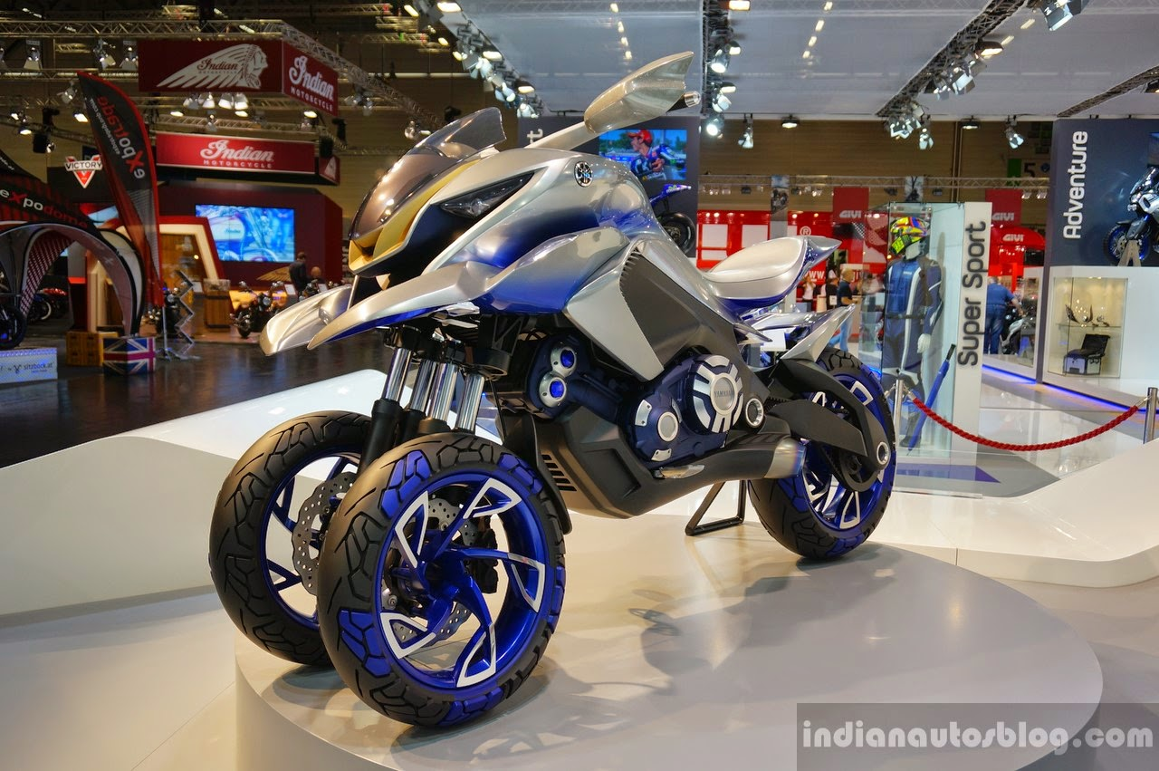 Yamaha Concept 01 GEN: la rivoluzione Moto e Scooter a 3 ruote