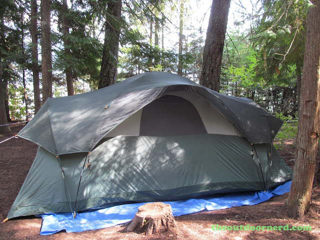 Outlet Campgrounds At Priest Lake, Idaho: A Shady Spot For Tent On Site 14