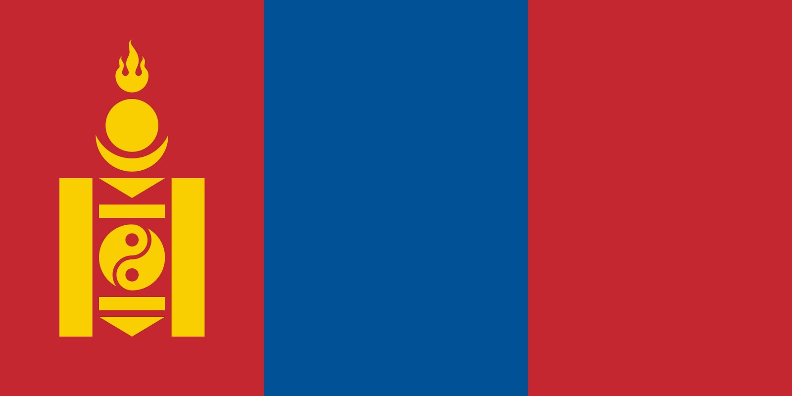 Монгол Улсын Далбаа