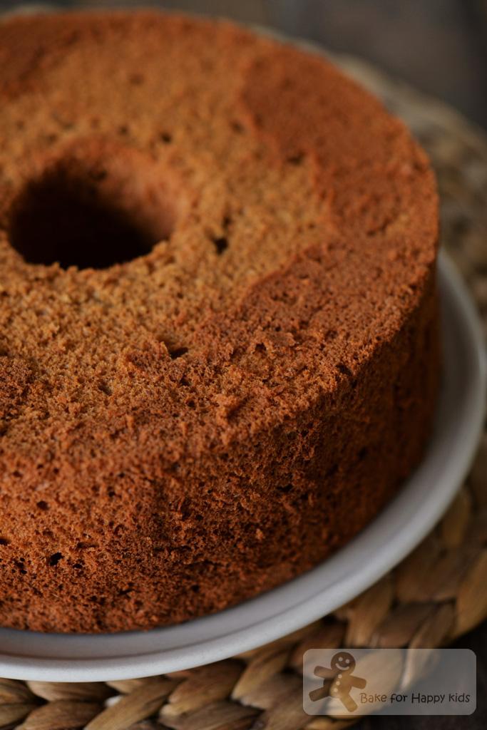 Mol Brown Sugar Rum Chiffon Cake