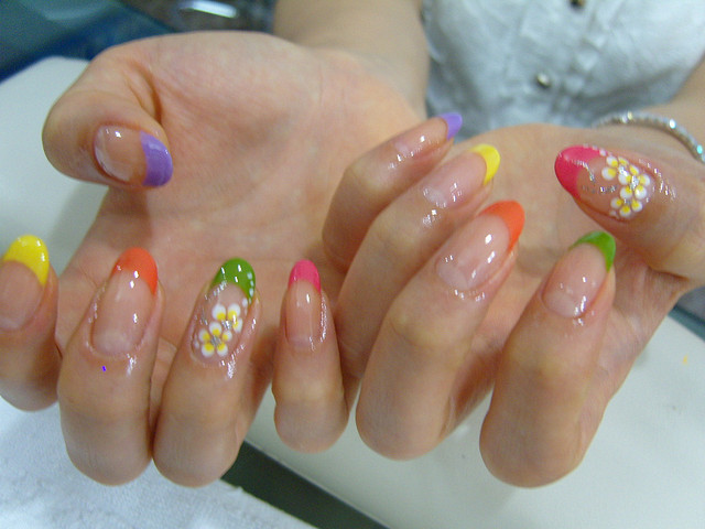 French Acrylic Nail Designs Nail Designs Hair Styles Tattoos And