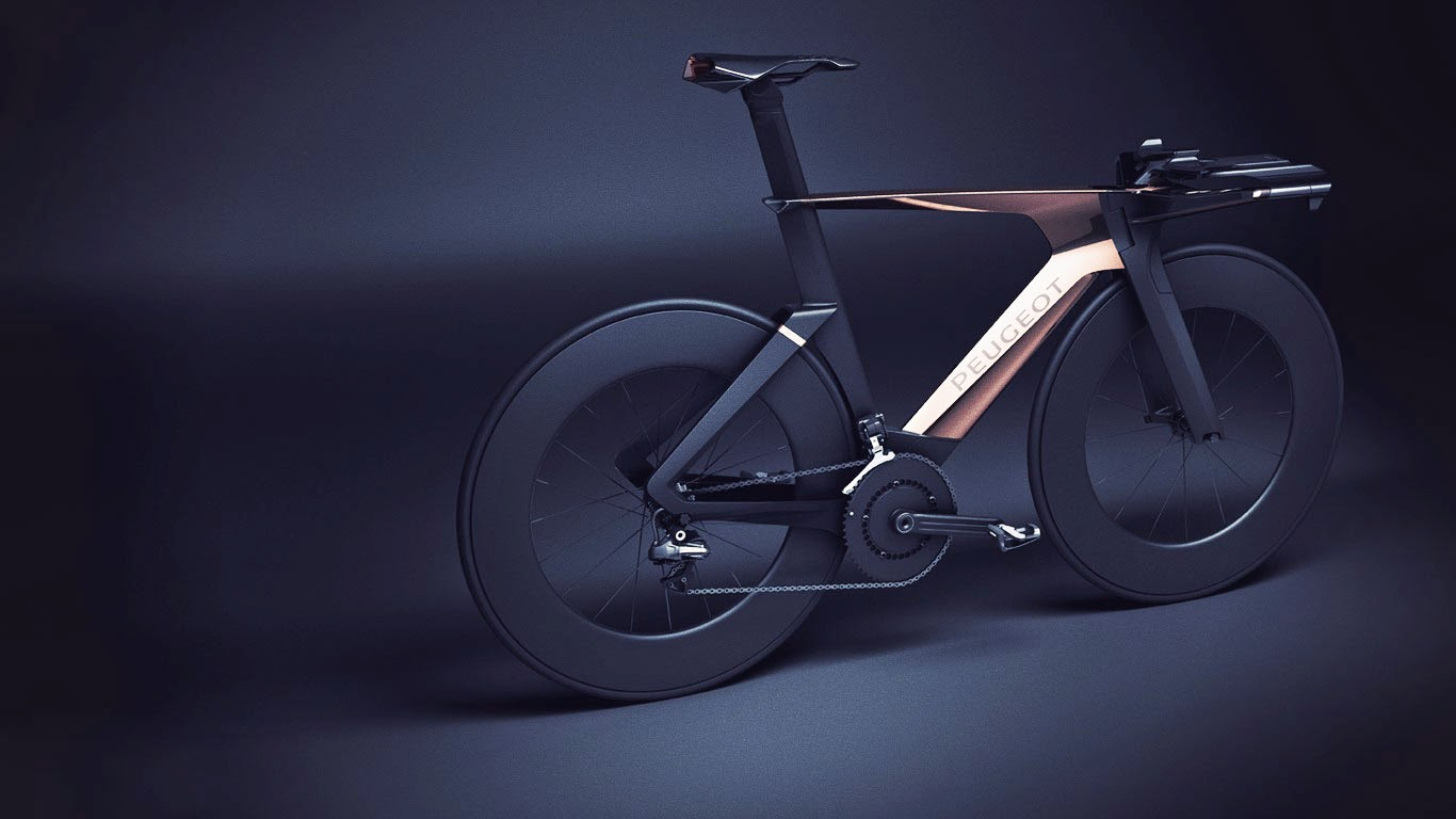 Peugeot Onyx Concept Bike by DesignLab Tri Bikes