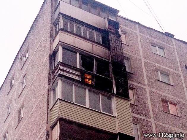 10 человек эвакуировано при пожаре в Скоропусковском
