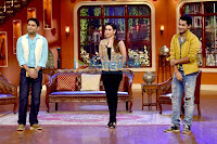 Karisma Kapoor at Team of 'Lekar Hum Deewana Dil' on Comedy Nights with Kapil