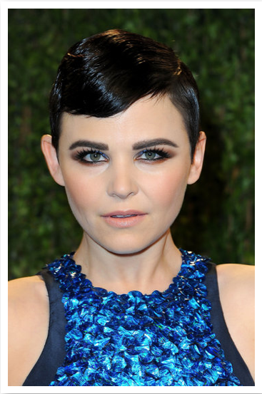Oscar's best hair & make-up is Ginnifer Goodwin  using Nars make-up