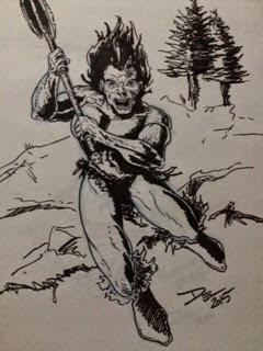 Barbarian by Del Teigeler, Mavfire