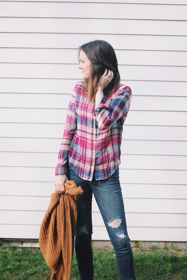 kalvin plaid button-up via @stitchfix http://www.bit.ly/yourstitchfix