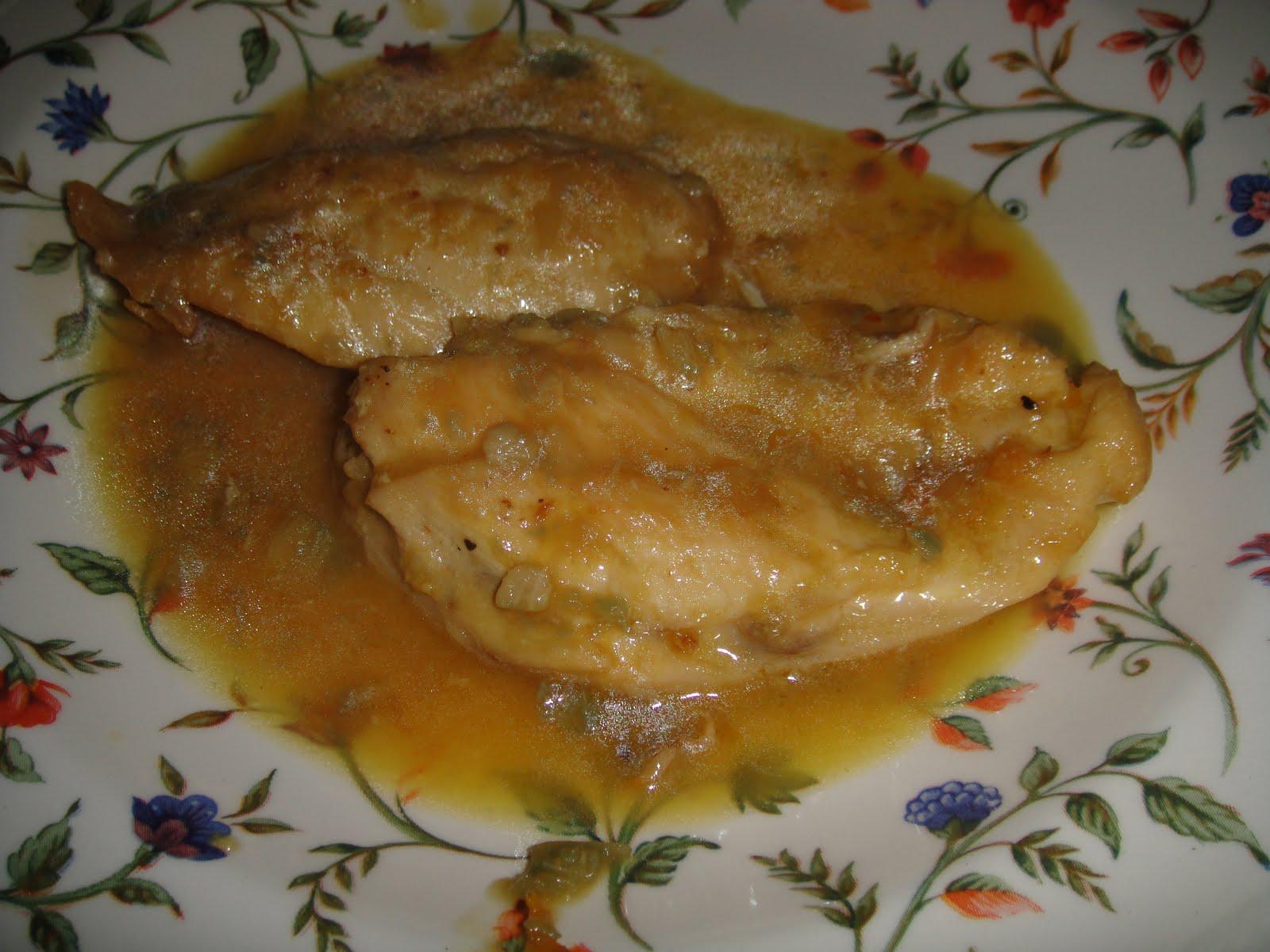 Mis ilusiones pechugas de pollo al limon - Pechugas de pollo al limon ...
