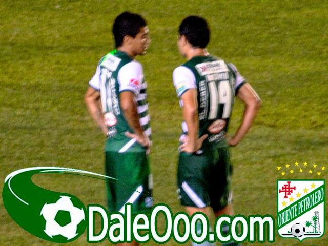 Oriente Petrolero - Alcides Peña - Gualberto Mojica - DaleOoo.com web del Club Oriente Petrolero