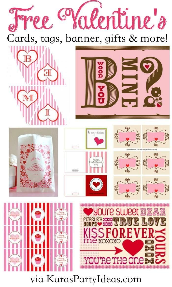 http://www.karaspartyideas.com/2011/01/free-valentines-printables-cards-party.html