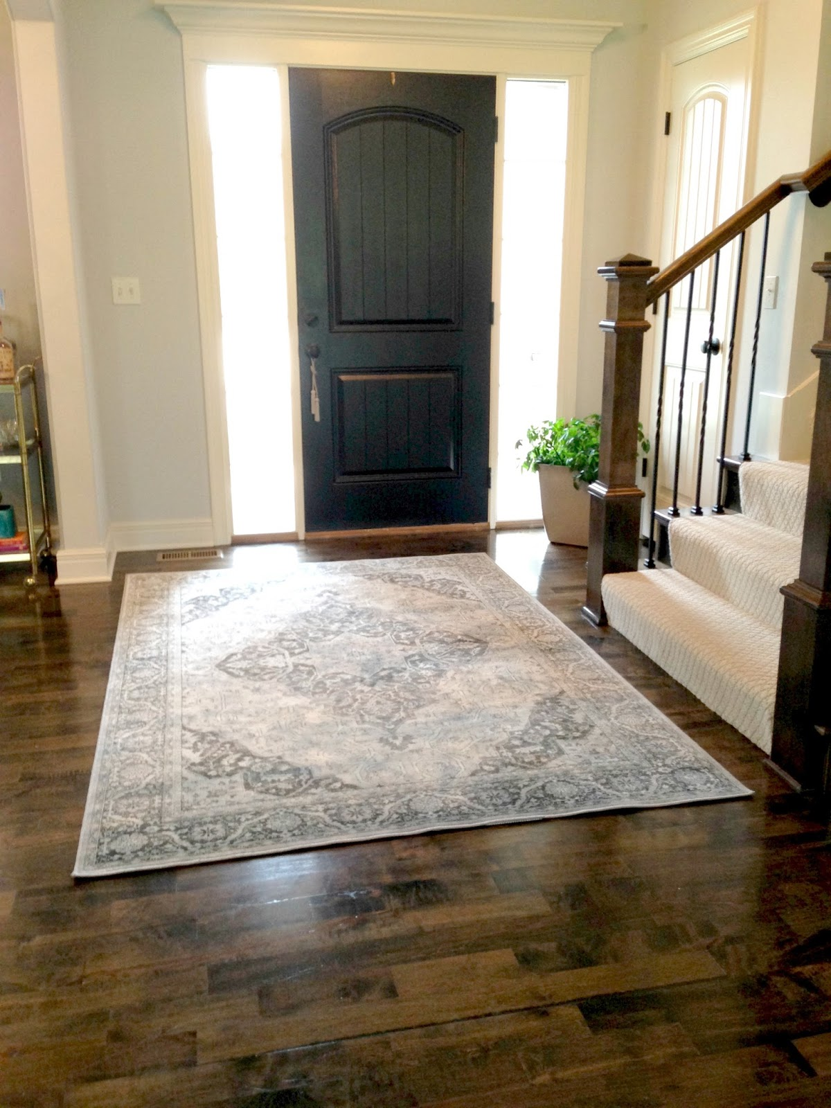 Entryway Foyer Rug : Front door rug entry roselawnlutheran