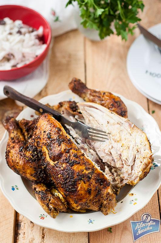 Jak upiec całego kurczaka w rękawie