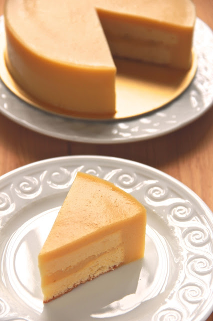 Bittersweetspicy Durian Custard Layer Cake