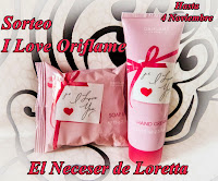 """Sorteo en el blog """"El Neceser de Loretta"""""""