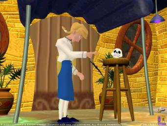 Escape From Monkey Island Insult Arm Wrestling