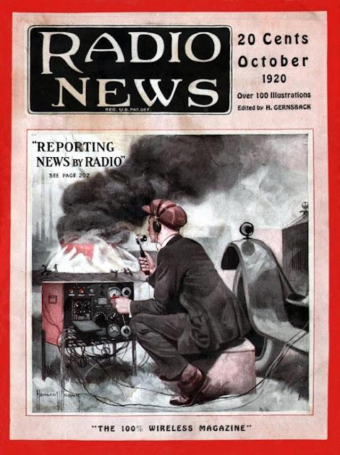 Radio Amateur News Magazine Covers 1920 Vintage Everyday
