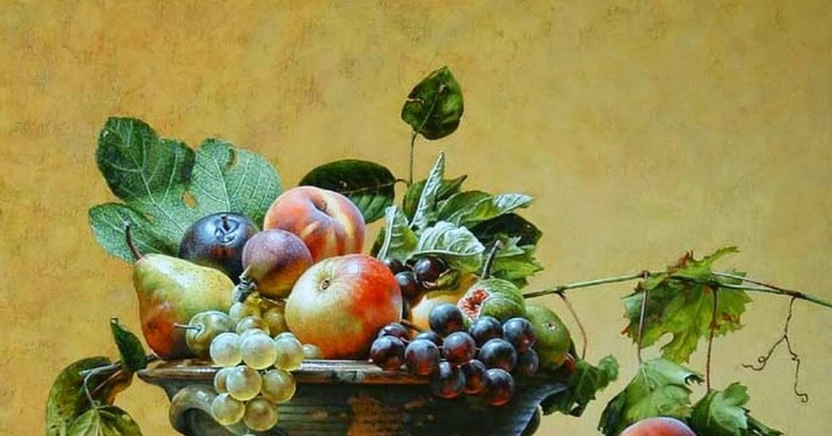 Cuadros modernos pinturas y dibujos bodeg n de frutas - Cuadros para cocina para imprimir ...