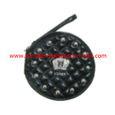 Box CD Bulat Mahkota Berlian Black