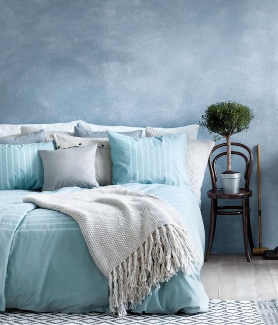 serenity blue badroom