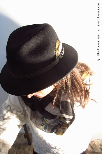 Chapeau Stetson noir pour femme Vidor