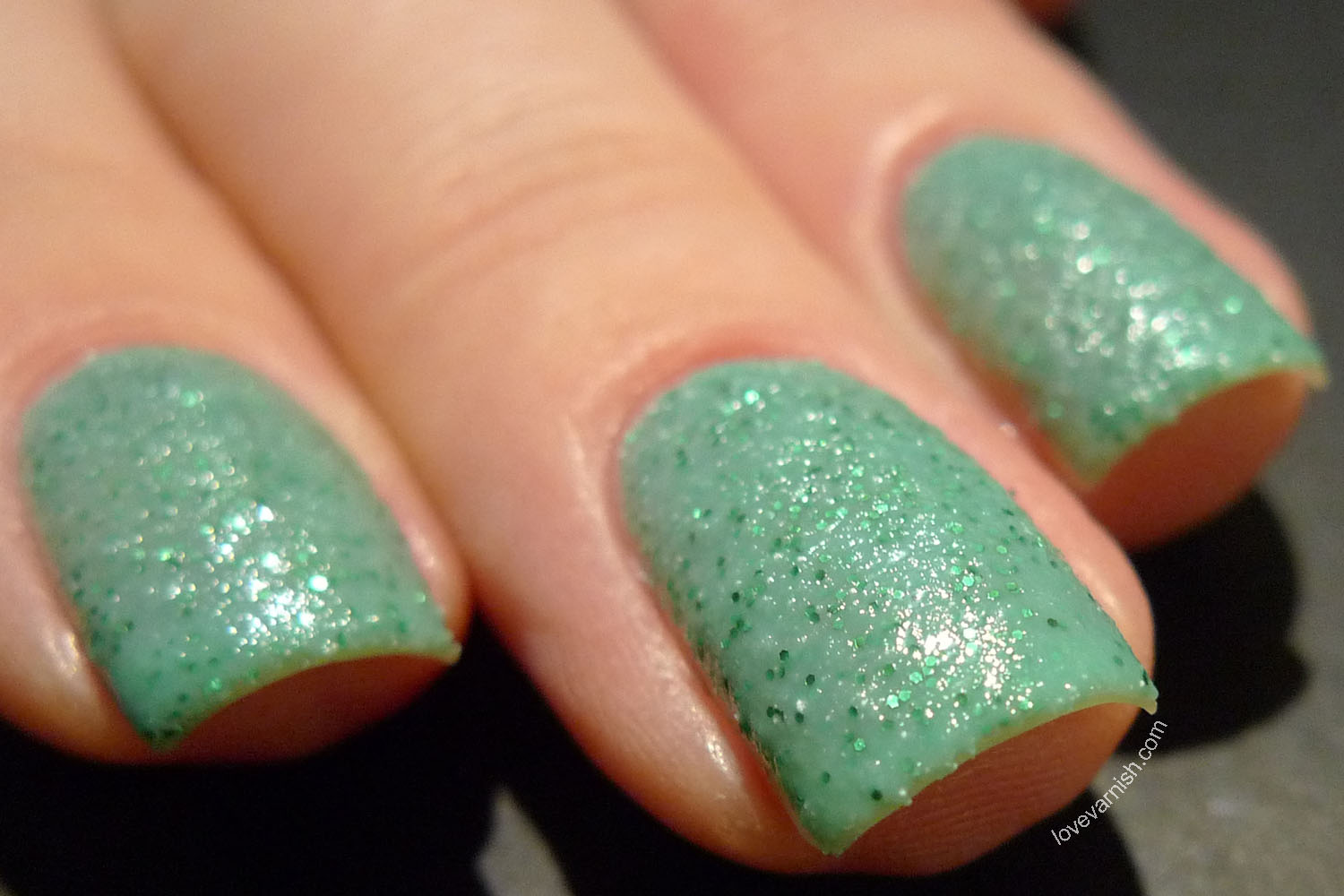 China Glaze Sea Goddess texture nail polish Teal The Tide Turns