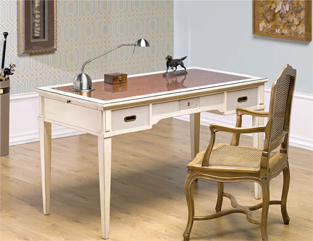 Preciosa mesa escritorio y sillón