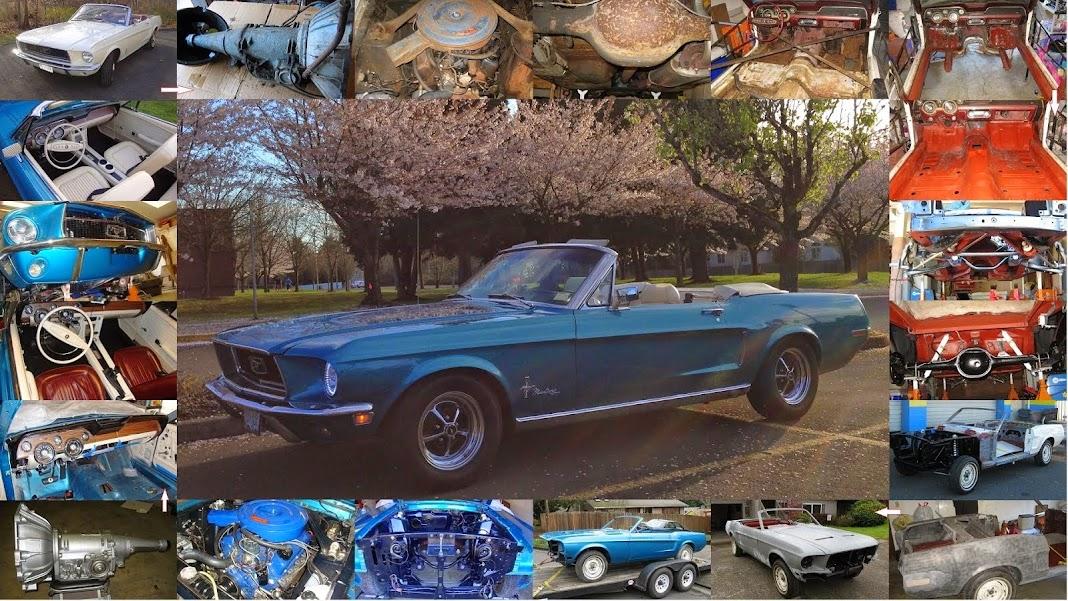 1968 Mustang Convertible Restoration