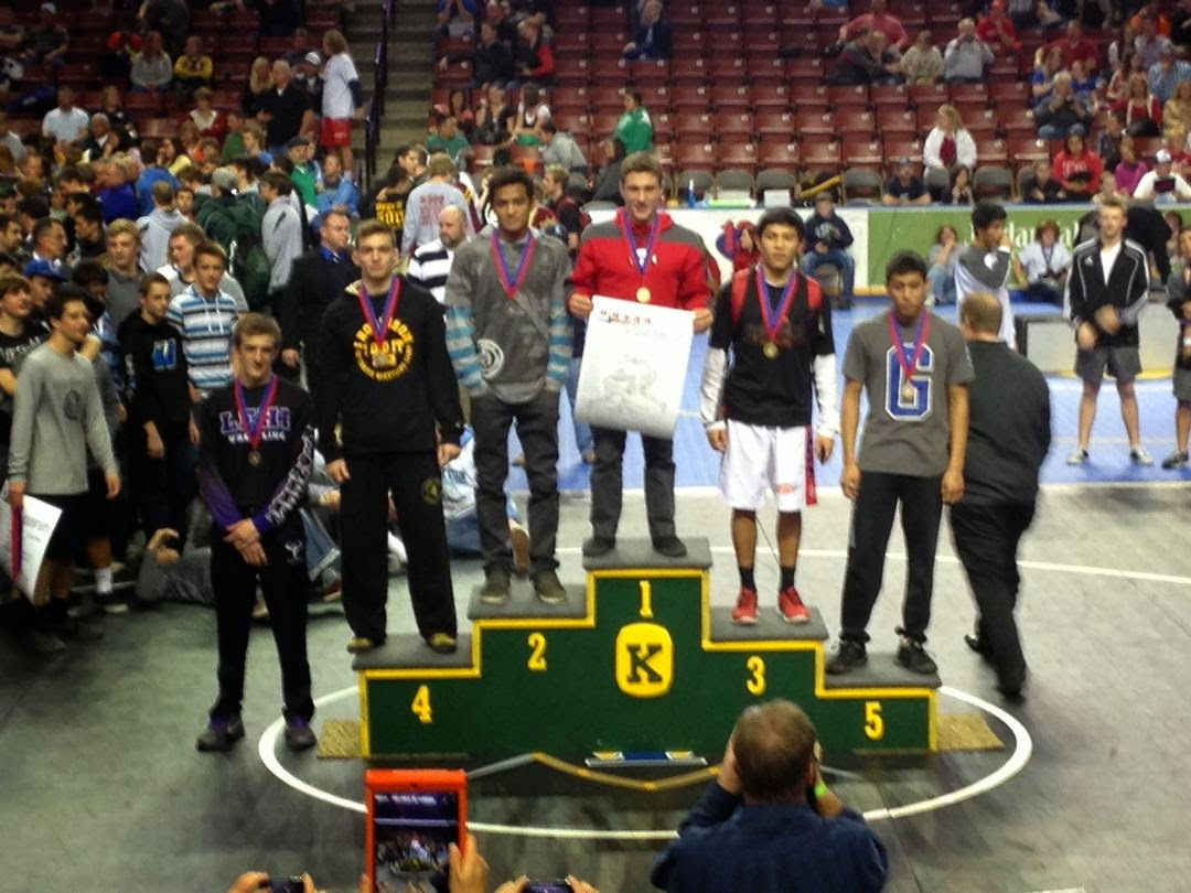 5A 138 Results - 6th Place - Dalton Rice of Lehi