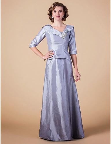 Vestido Madrina de Tafetán New York
