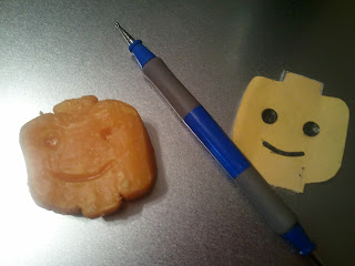 Lego Head Soap Carving / Canada Study / Inuit