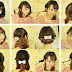 Hair style step by step: