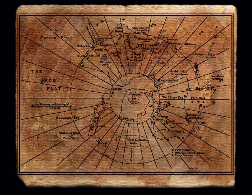 Nerdovore: Maps of Dune on