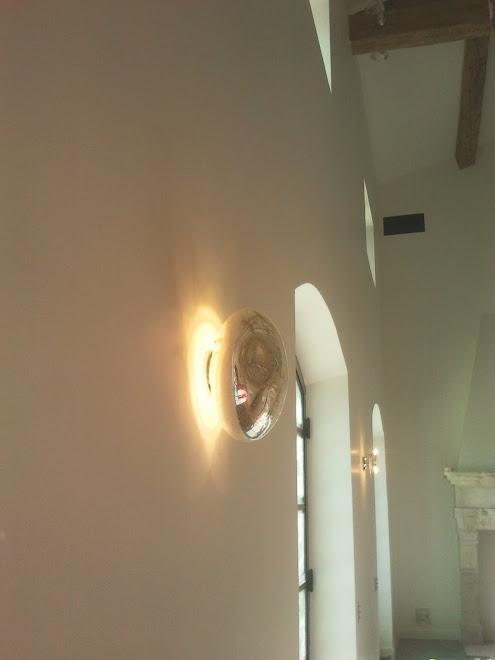 Plâtre Blanc de Blanc coupe feu 2heures / Murs 9m de hauteur