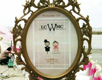 Gambar persiapan pra perkahwinan Chong Wei dan Mew Choo