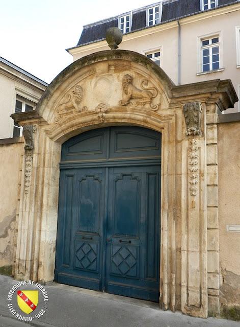 NANCY (54) - Rue Mably-Hôtel du Grand Chantre de la Primatiale